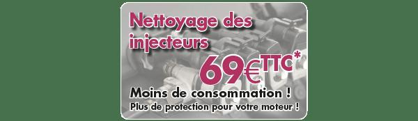 Point S Bas-rhin s'occupe du nettoyage des injecteurs pour moins de consommation etplus de protection pour votre moteur.