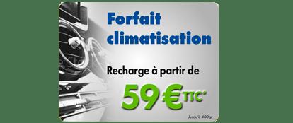 Forfait climatisation - recharge - Point S Saverne et de Niedermodern. La rechargede climatisation à partir de59€ TTC *